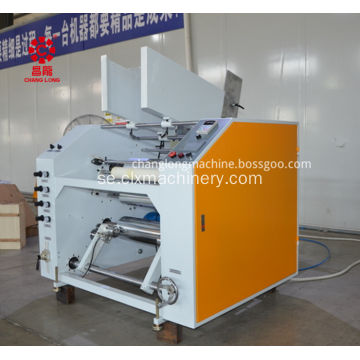 PE Stretch Film Auto Rewinder Machine
